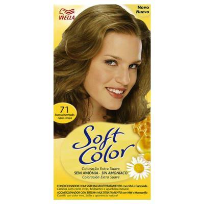 Tintura Soft Color Louro Acinzentado 71