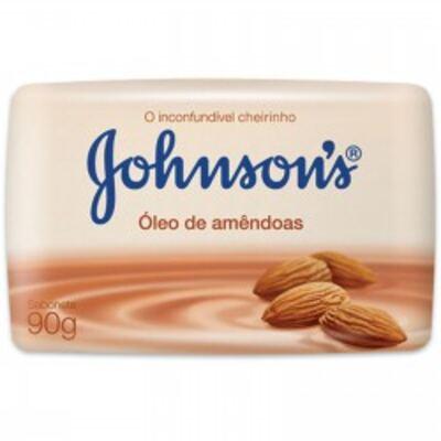 Imagem 1 do produto Sabonete Johnson's Óleo de Amêndoas Suave 90g