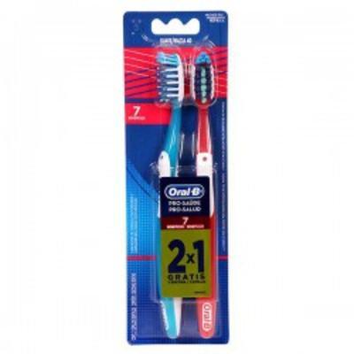 Imagem 1 do produto Escova Dental Oral-B Pro-Saúde 7 Benefícios 40 2 Unidades