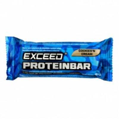 Imagem 1 do produto Barra de Proteína Exceed Proteibar Cookies 40g