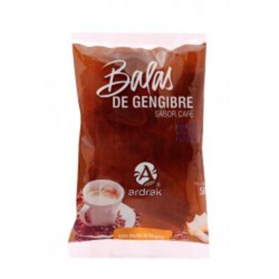 Bala Adrak Gengibre com Café