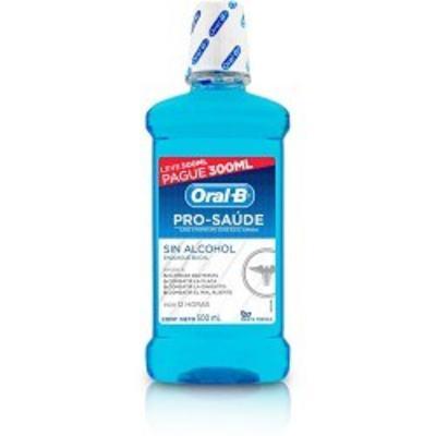 Antisséptico Bucal Oral-B Pró-Saúde 500ml