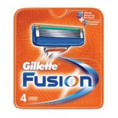 Imagem 1 do produto Carga Gillette Fusion - 4 unidades