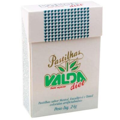 Imagem 1 do produto Pastilhas Valda Diet 24g