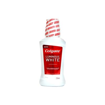 Antisséptico Bucal Colgate Luminous White 250ml