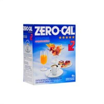 Imagem 1 do produto Adoçante em Pó Zero-Cal 50 Envelopes