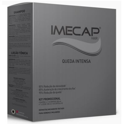 Kit Imecap Hair Queda Intensa Shampoo 300ml + Loção 100ml