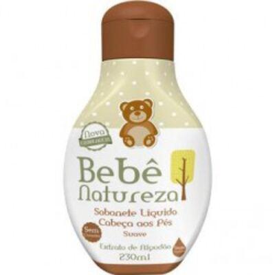 Imagem 1 do produto Sabonete Líquido da Cabeça aos Pés Bebê Natureza