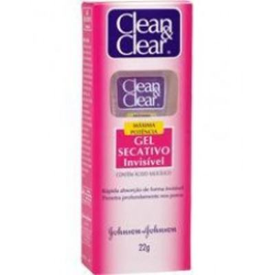 Gel Facial Secativo Clean Clear 22gr