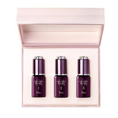 Imagem 1 do produto Tratamento Noturno Anti-envelhecimento Dior Capture Totale Cure Peau Neuve 21 Nuits - 4x 10ml