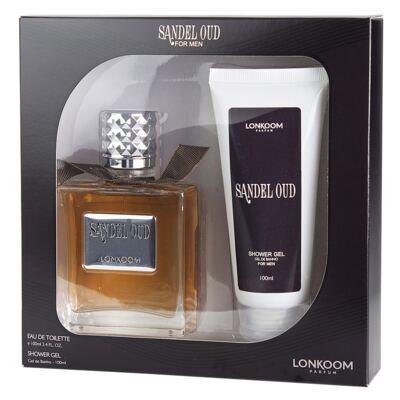 Imagem 1 do produto Sandel Oud Lonkoom - Masculino - Eau de Toilette - Perfume + Gel de Banho - Kit