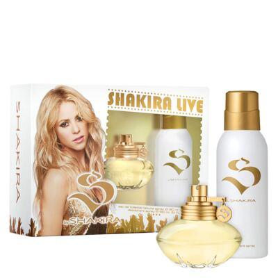Imagem 1 do produto Shakira Live Shakira - Feminino - Eau de Toilette - Perfume + Desodorante - kit