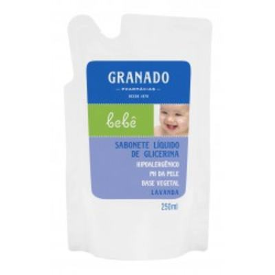 Sabonete Granado Líquido Bebê Lavanda Refil 250ml