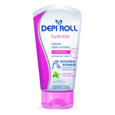 Imagem 1 do produto Creme Depilatório Depi Roll Shower Power Corporal Hydrate 130g