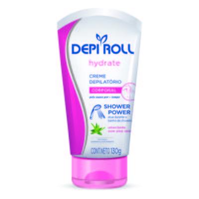 Creme Depilatório Depi Roll Shower Power Corporal Hydrate 130g