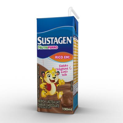 Suplemento Alimentar Sustagen Nutriferro Chocolate 190ml