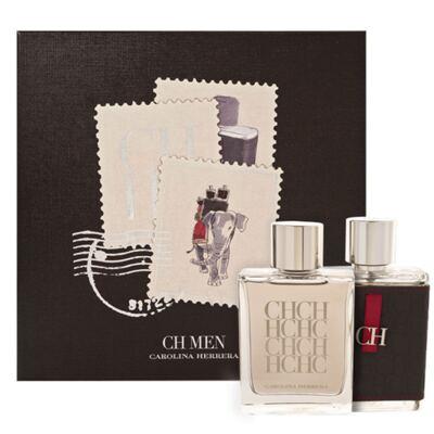 Imagem 1 do produto CH Men  Carolina Herrera - Masculino - Eau de Toilette - Perfume + Loção Pós Barba - Kit