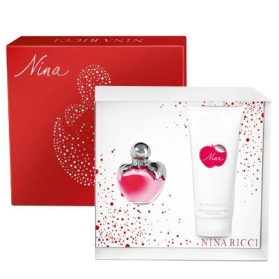 Imagem 1 do produto Nina Ricci Nina Ricci - Feminino - Eau de Toilette - Perfume + Loção Hidratante - kit