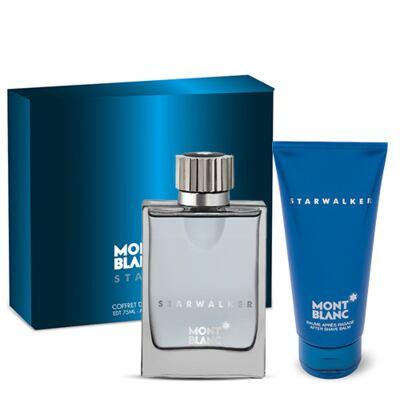 Imagem 1 do produto Starwalker Montblanc - Masculino - Eau de Toilette - Perfume + Loção Pós Barba - Kit