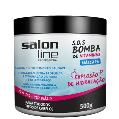 Máscara de Tratamento Salon Line Bomba de Vitaminas 500g