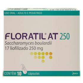 Floratil At - 250mg   10 cápsulas gel