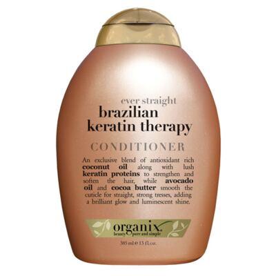 Imagem 1 do produto Organix Ever Straight Brazilian Keratin Therapy - Condicionador - 385ml