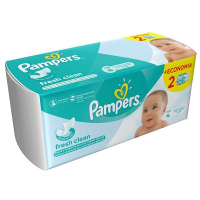 Imagem 3 do produto Lencinhos Umedecidos Pampers Fresh Clean 96 Unidades