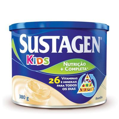 Imagem 1 do produto Suplemento Alimentar Sustagen Kids Baunilha 380g