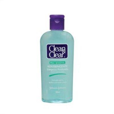 Imagem 2 do produto Adstringente Facial Johnson´s Clean & Clear Pele Sensível 200ml
