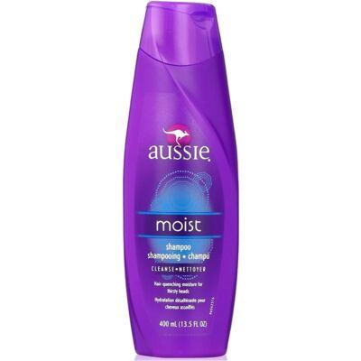 Imagem 16 do produto Aussie Moist Shampoo 400ml + Aussie Moist Tratamento Capilar 3 Minutos Milagrosos 236ml