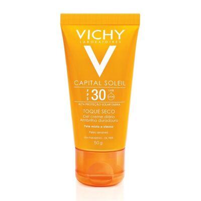 Protetor Solar Vichy Capital Soleil Toque Seco FPS30 50g
