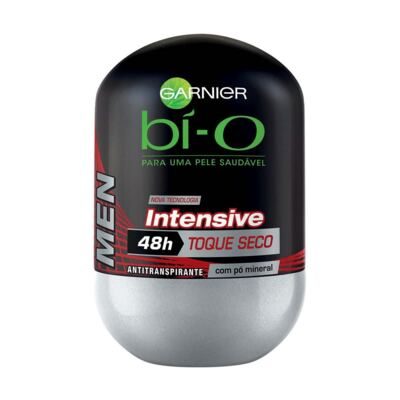Desodorante Bi-O Roll-On Intensive Toque Seco Masculino 50ml
