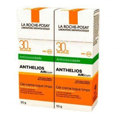 Imagem 1 do produto Protetor Solar La Roche-Posay Anthelios Airlicium FPS 30 50g 2 Unidades
