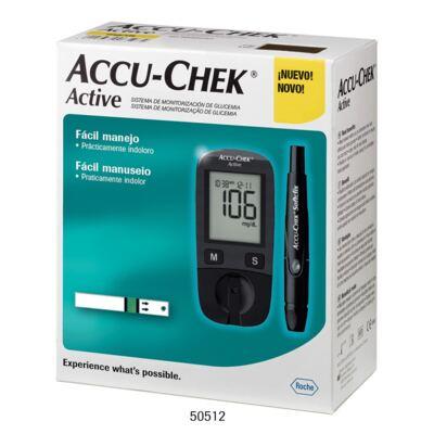 Imagem 1 do produto Kit Medidor de Glicose Accu-Chek Active Roche
