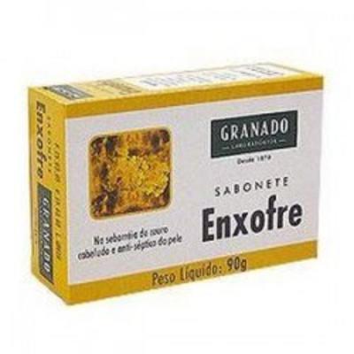 Imagem 1 do produto Sabonete Granado Medicinal Enxofre 90g