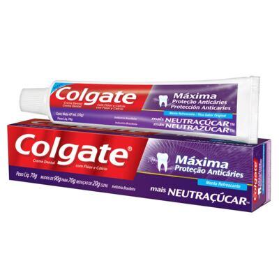 Imagem 1 do produto Creme Dental Colgate Neutraçúcar 70g