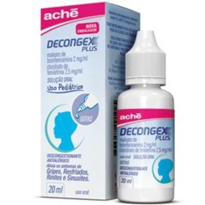 Imagem 1 do produto Decongex Plus Aché Gotas - 20ml - 20ml