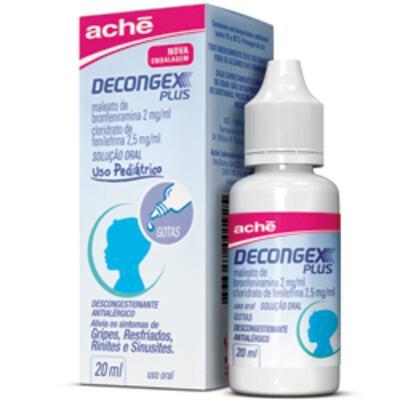 Imagem 2 do produto Decongex Plus Aché Gotas - 20ml - 20ml