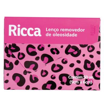 Lenço Removedor de Oleosidade Ricca - 50 Unidades