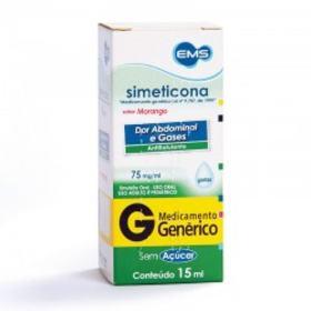 Simeticona Gotas Genérico EMS - 75mg | 15ml
