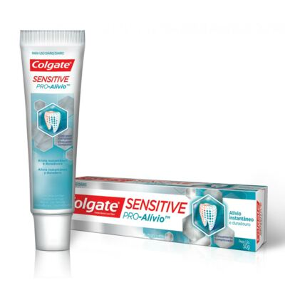 Creme Dental Colgate Sensitive Pró -Alívio - 50g