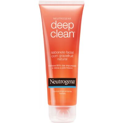 Neutrogena Deep Clean em Gel Grapefruit - 150g