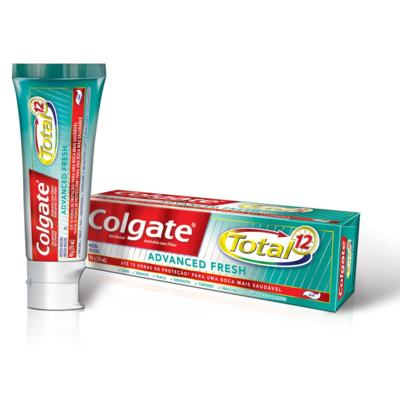 Creme Dental Colgate Gel Total 12 Advanced Fresh 90g