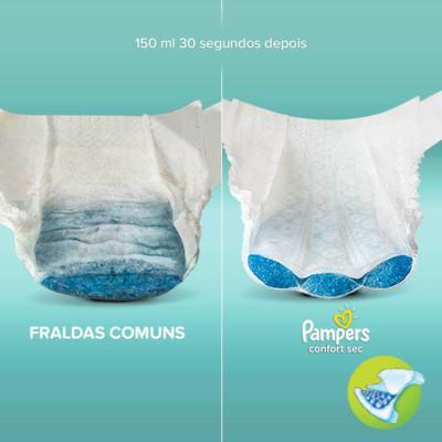 Imagem 2 do produto Fralda Pampers Confort Sec - XG, 34 unidades -