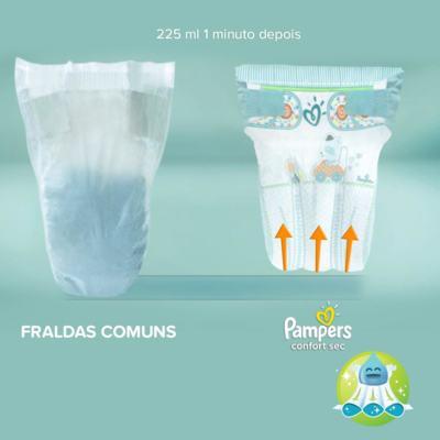 Imagem 3 do produto Fralda Pampers Confort Sec - XG, 34 unidades -