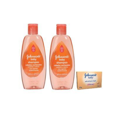 Shampoo Johnson´s Baby 200ml 2 Unidades + Sabonete Johnson´s