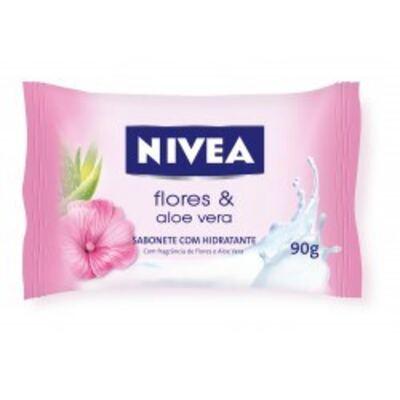 Imagem 1 do produto Sabonete Nivea Aloe Vera e Flores 90g