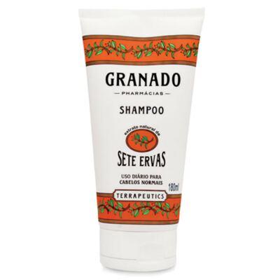 Imagem 3 do produto Kit Granado Shampoo + Condicionador Sete Ervas 180ml + Sabonete Glicerinado 90g
