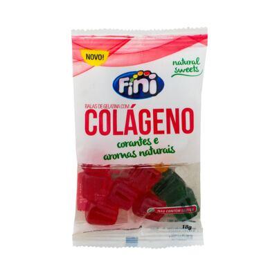 Imagem 2 do produto Balas de Gelatina Fini Natural Sweets Colágeno 18g