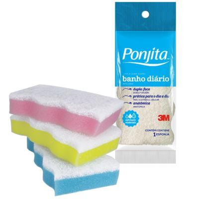 Esponja de Banho Ponjita 3M Diário